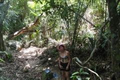 A trilha até o Pico do Pão de Açúcar.