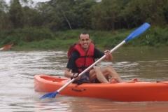 Descendo o rio rio Paraíba do Sul.