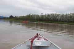 Descendo o rio Paraíba do Sul.
