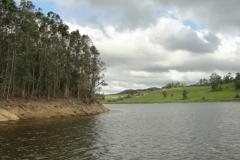 Represa de Paraitinga.