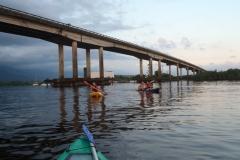 Ponte sobre o rio Itapanhaú.